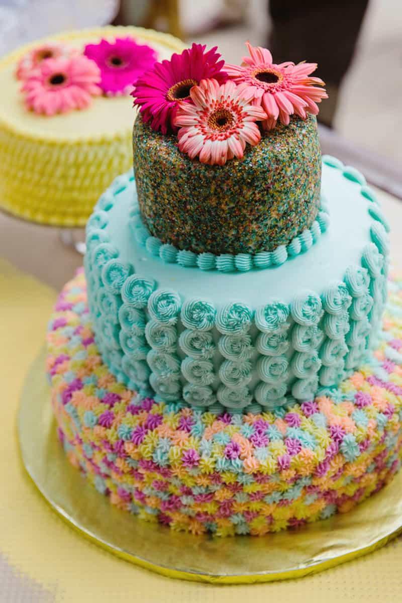 Close Knit Family & Friend DIY Wedding, Bride with Purple Petticoat (36)