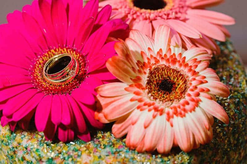 Close Knit Family & Friend DIY Wedding, Bride with Purple Petticoat (40)
