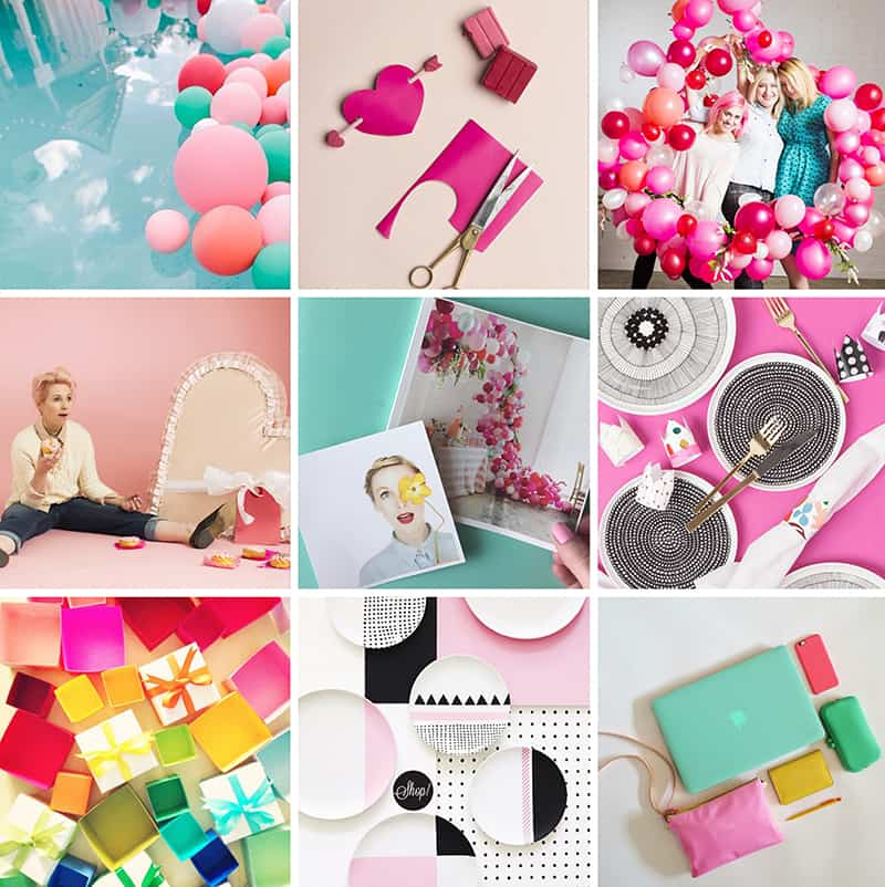 House that lars built Colourful Instagram Account
