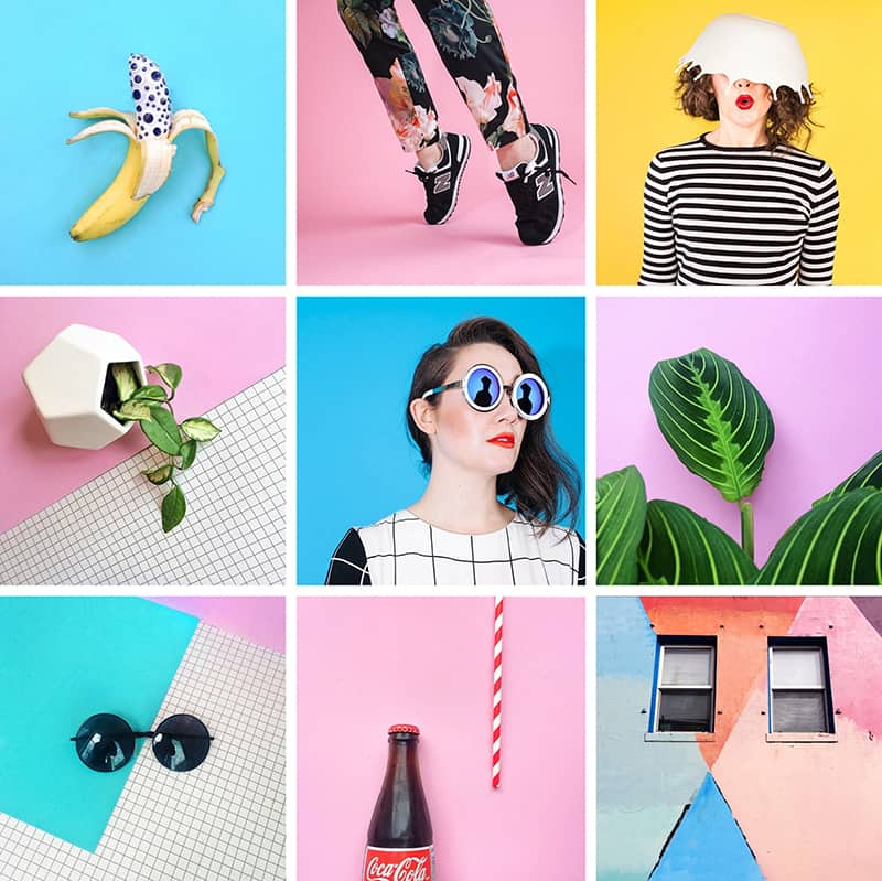 Little Drill colourful instagram account