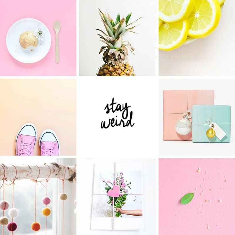 Passion Shake Colourful Instagram Account