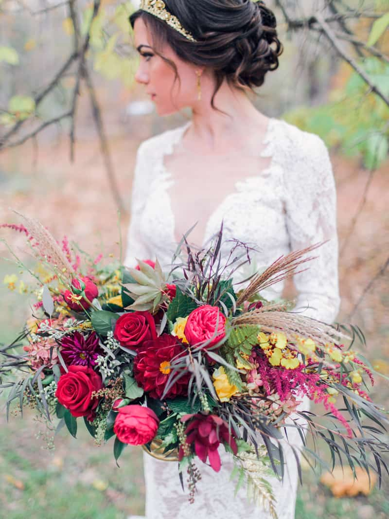 Watters Red Bouquet