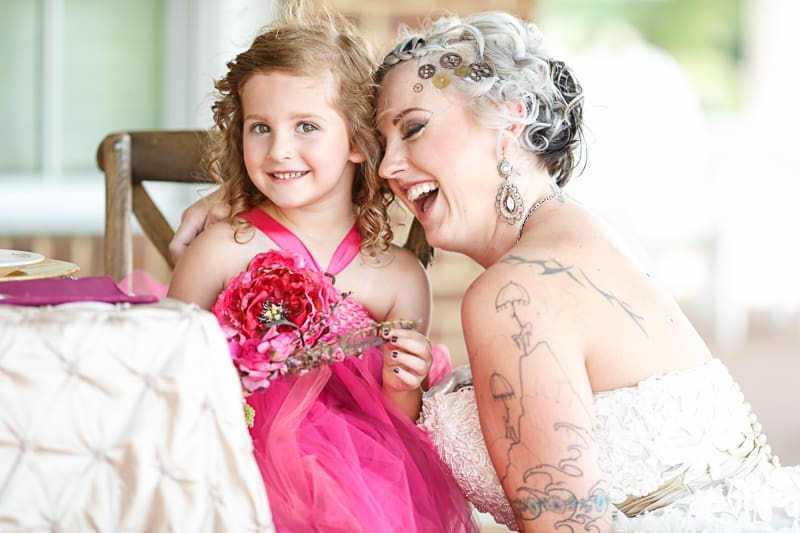 Steampunk Colourful Vibrant Colours Pink Wedding Inspiration-13
