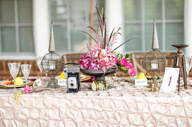 Steampunk Colourful Vibrant Colours Pink Wedding Inspiration