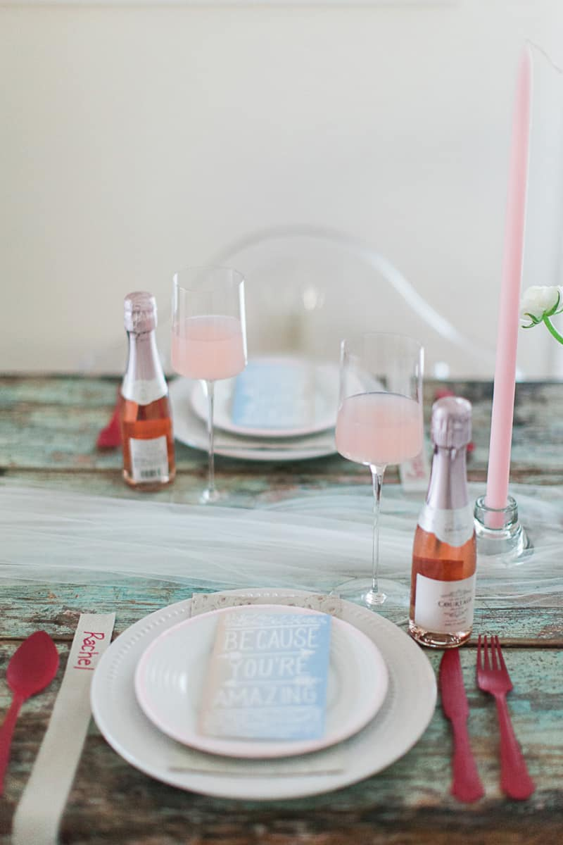 Valentines Bridal Shower Styled Shoot Pink Red Colour Scheme-13
