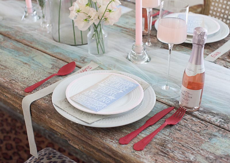 Valentines Bridal Shower Styled Shoot Pink Red Colour Scheme-31