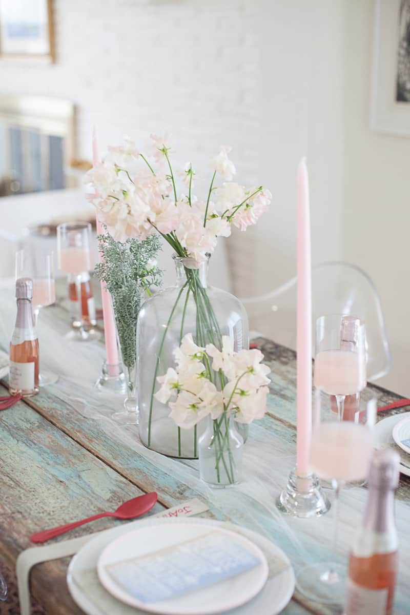 Valentines Bridal Shower Styled Shoot Pink Red Colour Scheme-36