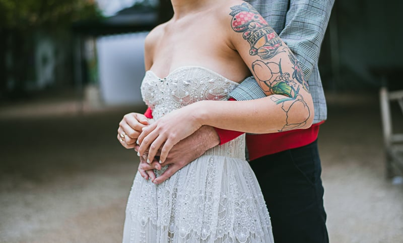 Winter Wedding Inspiration Style with Rockabilly Fashion from Zebra Music and Gold Antler Crowns Shoot-28