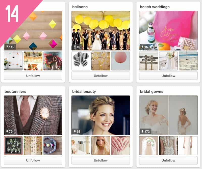 14 Oh Lovely Day Wedding Pinterest Accounts to Follow