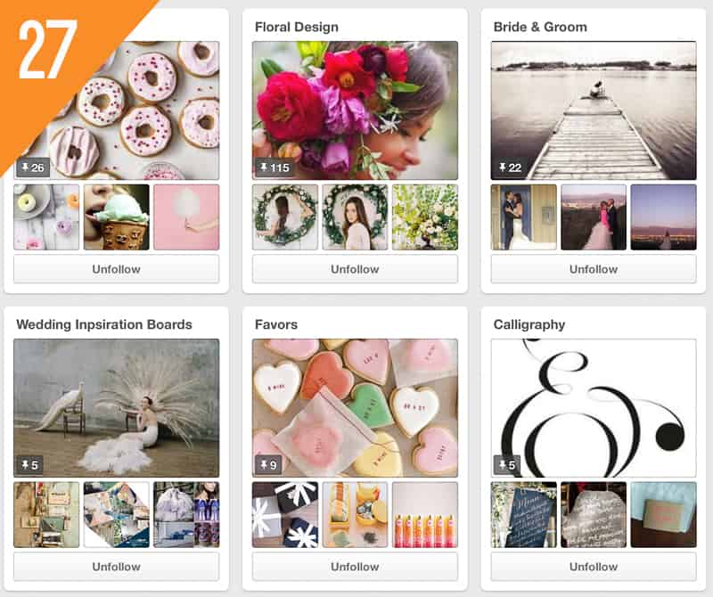 27 Utterly Engaged Magazine Wedding Pinterest Accounts to Follow for inspiration