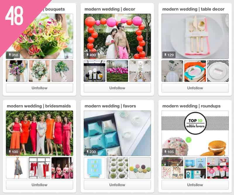 48 Brooklyn Bride Wedding Pinterest Accounts to Follow