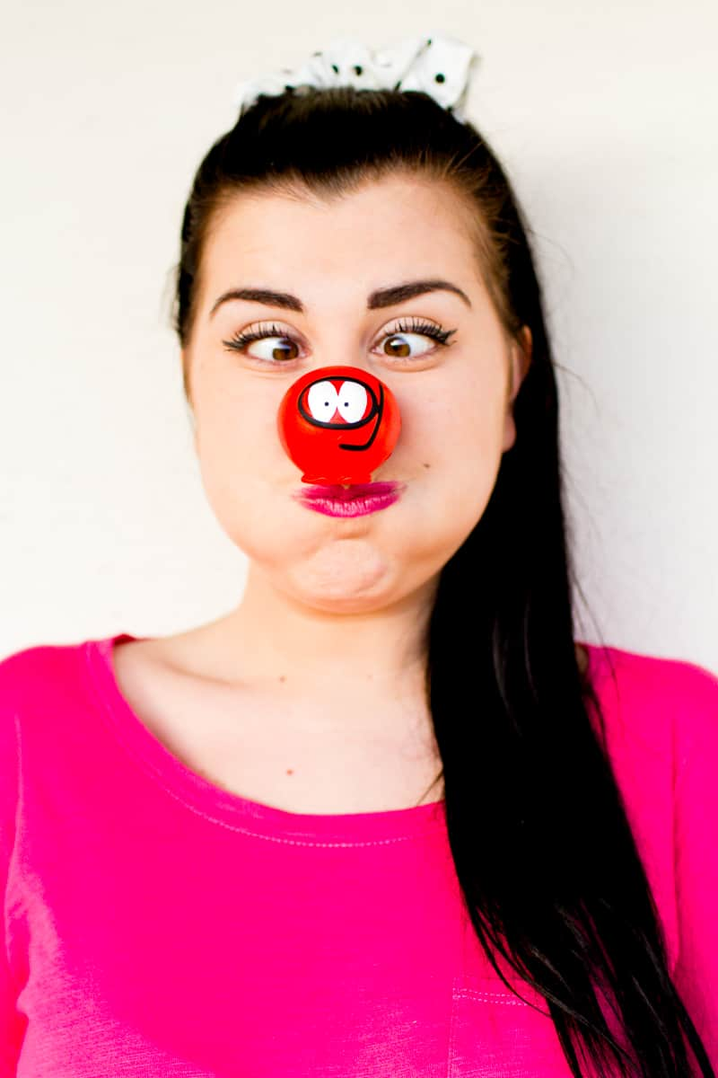 Comic Relief Fundraising Do Something Funny For Money Bespoke Bride