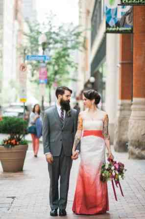 Ombre Wedding Gown for Urban Wedding (24)