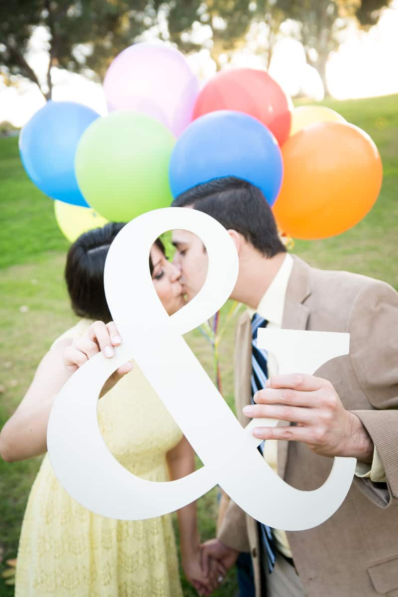 Up Themed Engagement Shoot 22