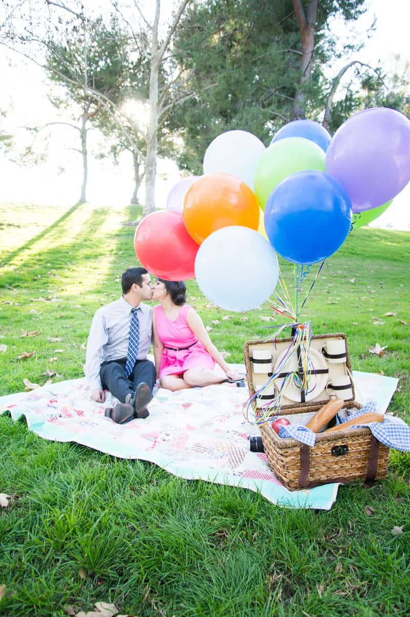 Up Themed Engagement Shoot 3