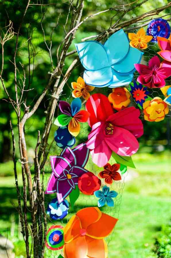 A SAME SEX COLOURFUL HANDMADE WEDDING AT A FOREST RETREAT IN Massachusetts (2)