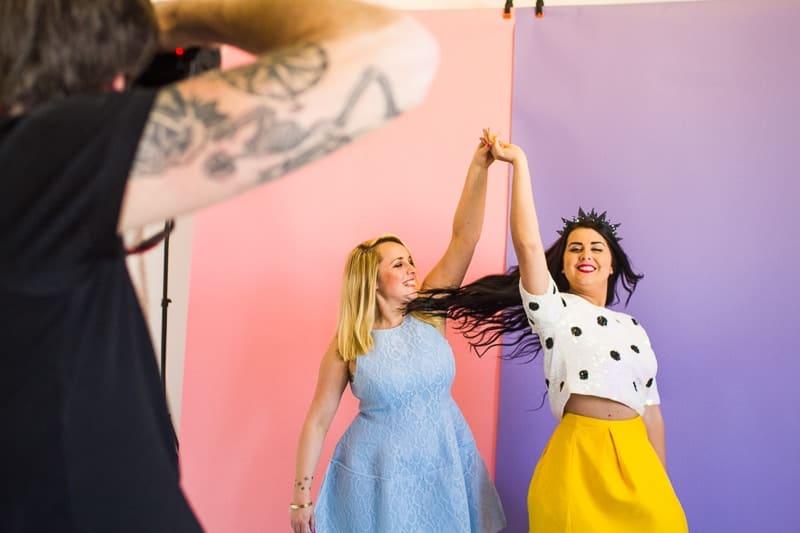 Behind The Scenes Bespoke Bride Media Kit Shoot Craig Dearsley-14