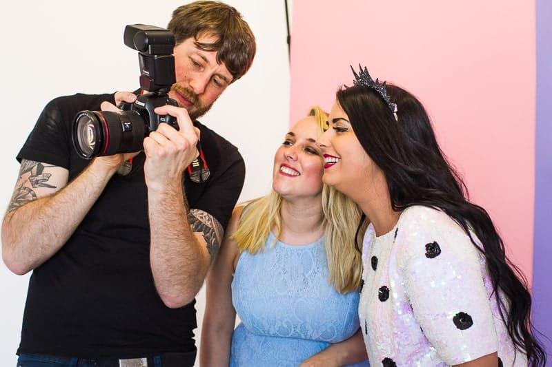 Behind The Scenes Bespoke Bride Media Kit Shoot Craig Dearsley-16