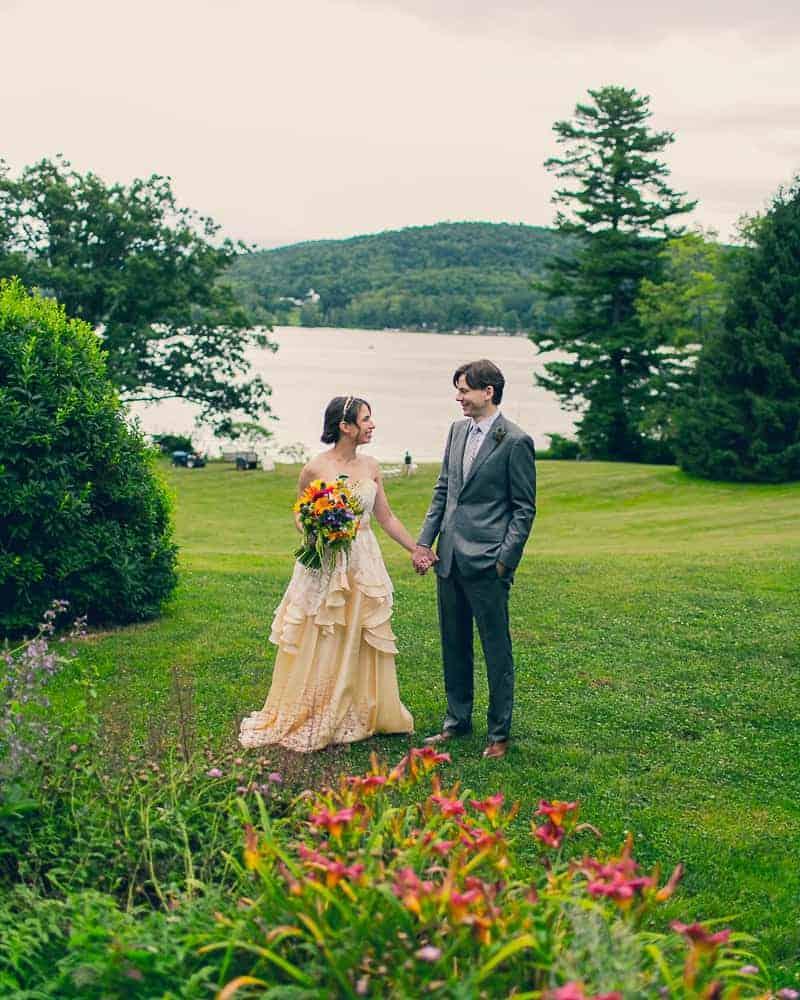 Pinwheel Themed Wedding with Colourful Sunflowers Backyard Inspiration-5