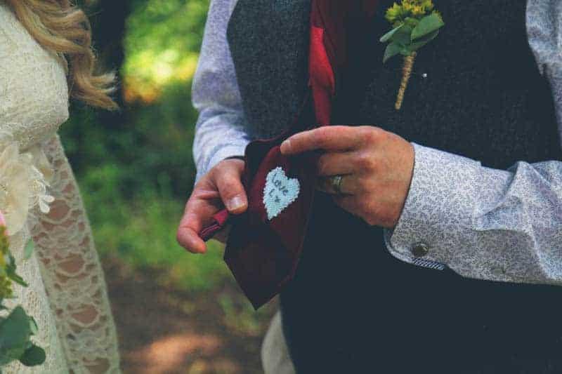 TRAVEL INSPIRED WOODLAND WEDDING (10)