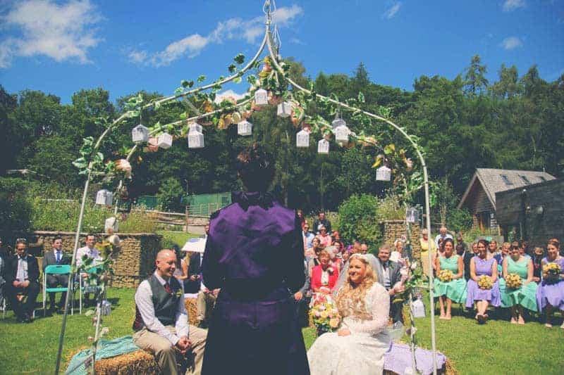 TRAVEL INSPIRED WOODLAND WEDDING (3)