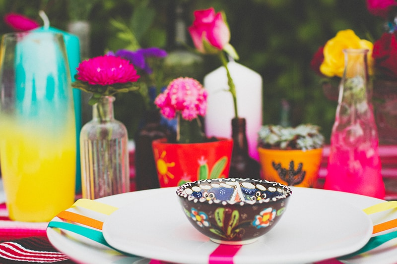 7 DIY Mosaic Skull Mexican Wedding Inspiration Tutorial Dia de los muertos