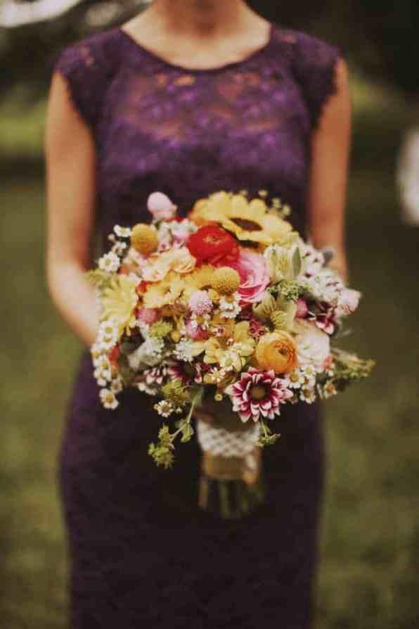 A BRIGHT & BEAUTIFUL TECHNICOLOUR WEDDING IN THE RAIN! (13)