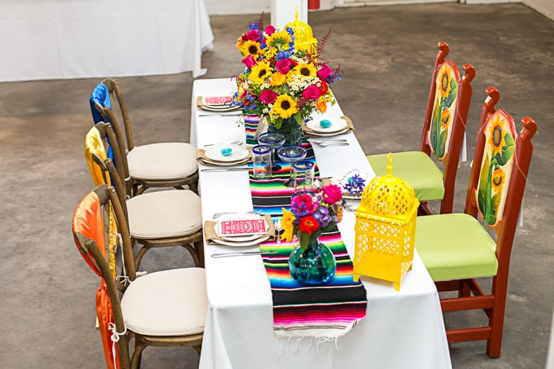 How to style a mexican themed table wedding inspiration 3
