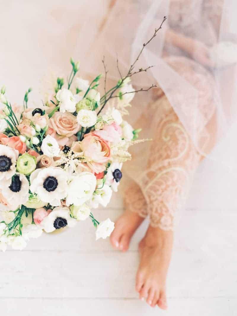 Soft Romantic Boudoir Shoot Session Bespoke Bride 23