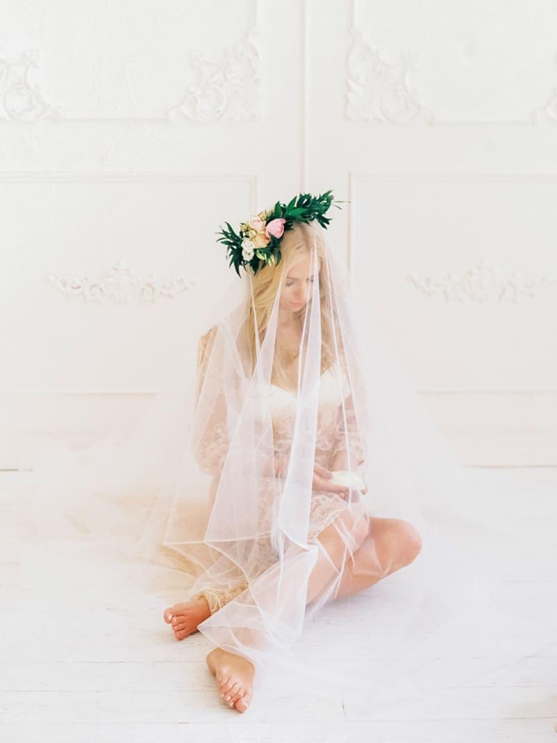 Soft Romantic Boudoir Shoot Session Bespoke Bride 25