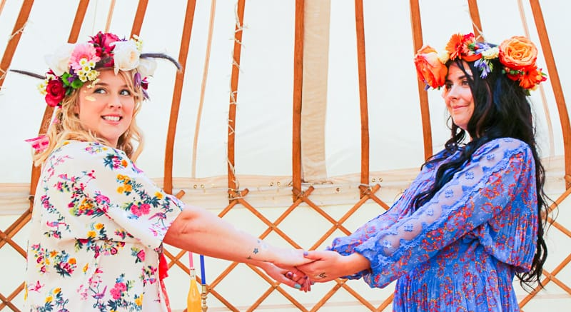Behind the scenes Free People Festival Wedding Inspiration with Bespoke Bride-14