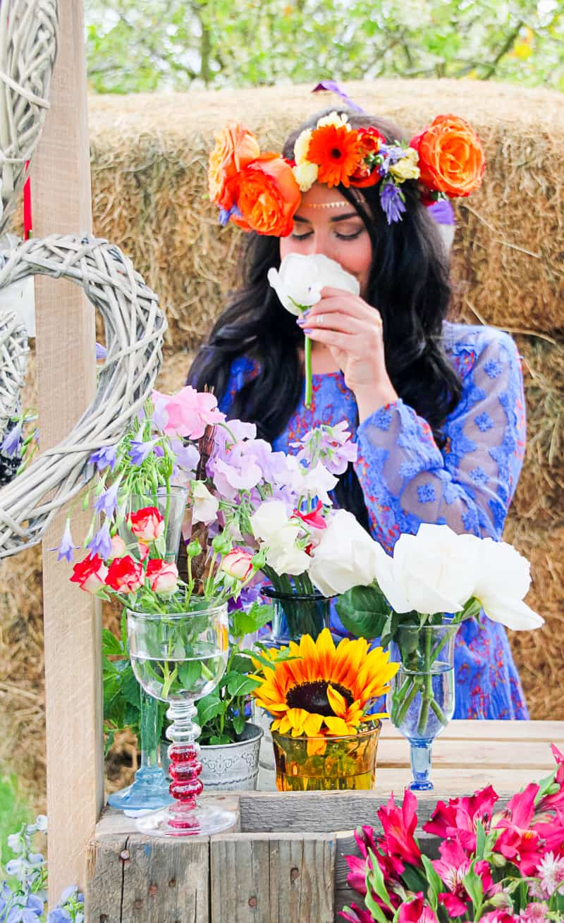 Behind the scenes Free People Festival Wedding Inspiration with Bespoke Bride-4