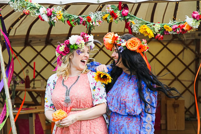 Behind the scenes Free People Festival Wedding Inspiration with Bespoke Bride-9