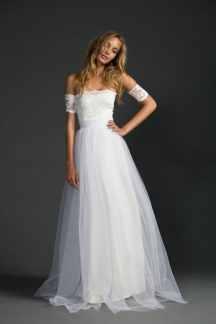 Lace arm bands Wedding Dress Bohemian Festival Style