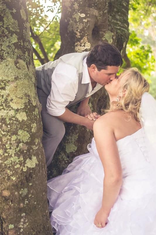 Sharlene and Zane's Bold Woodland Wedding in a treehouse (26)