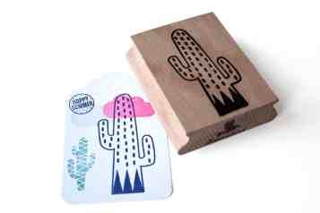 Cactus Stamp Wedding 1