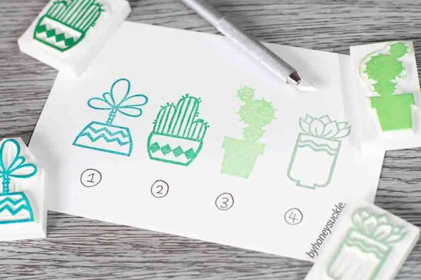 Cactus Stamp Wedding 3