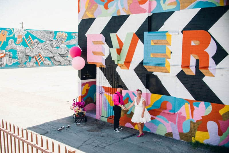 PINK TO MAKE THE BOYS WINK! AN ECLECTIC LAS VEGAS ELOPEMENT (33)