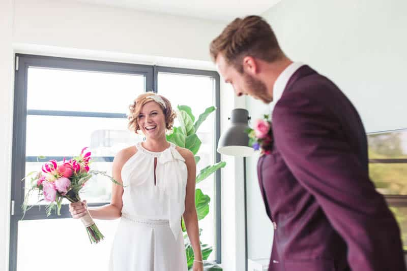 A CUTE & COLOURFUL DIY WEDDING IN A STYLISH MUSEUM IN THE NETHERLANDS (23)
