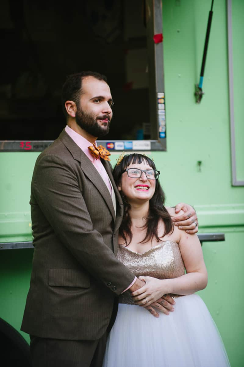 A FUN & QUIRKY FALL VEGAN WEDDING WITH A TACO TRUCK AND PUMPKIN DECORATIONS! (20)