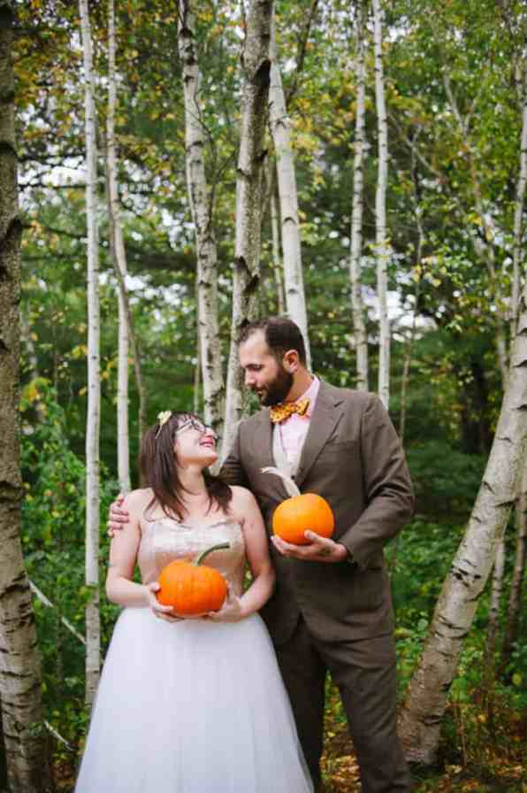 A FUN & QUIRKY FALL VEGAN WEDDING WITH A TACO TRUCK AND PUMPKIN DECORATIONS! (3)