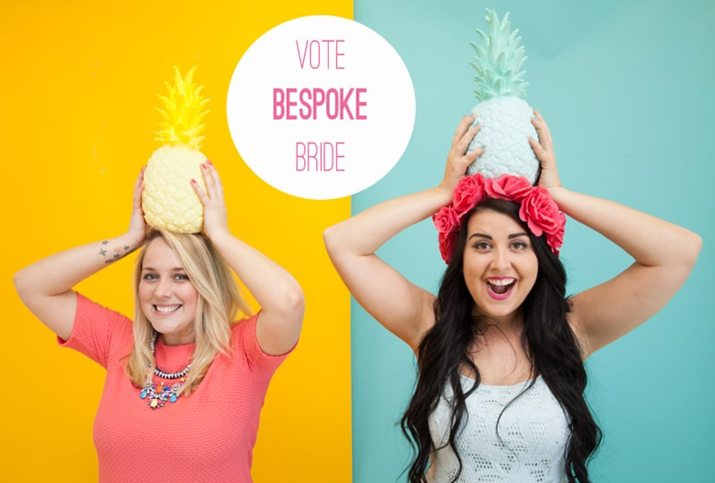 Vote Bespoke Bride to win best Bridal wedding blog in the Cosmopolitan blog awards 2015