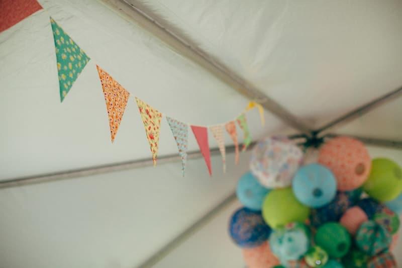 Backyard Flamino themed DIY Wedding in South Hampton USA  (13)