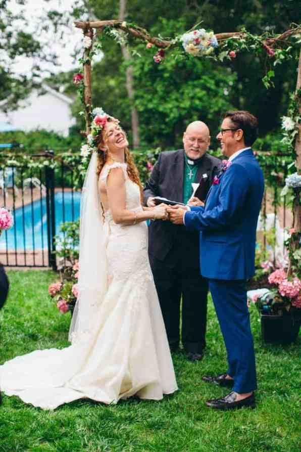 Backyard Flamino themed DIY Wedding in South Hampton USA (20)
