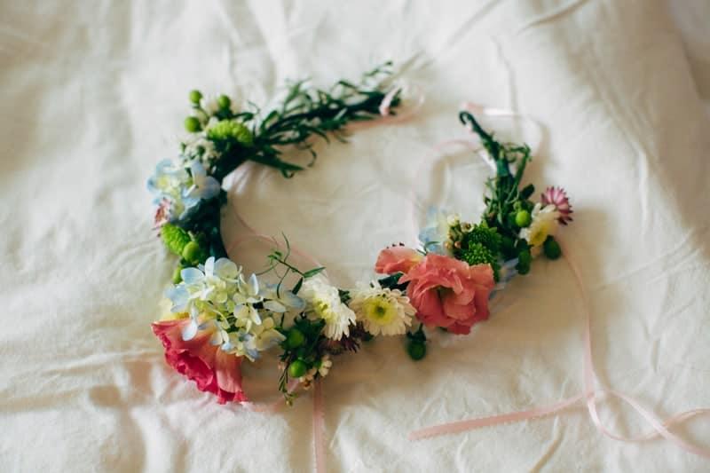 Backyard Flamino themed DIY Wedding in South Hampton USA  (9)