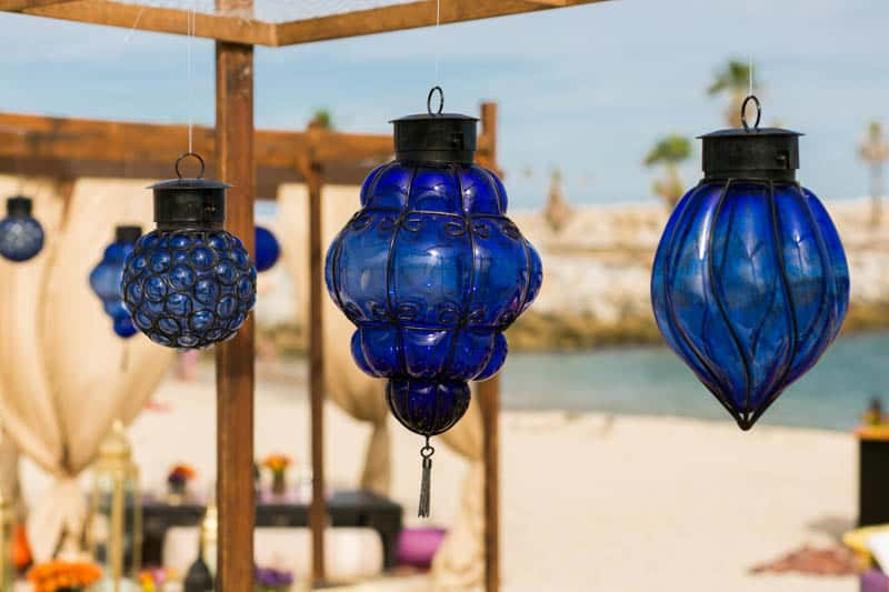 How to create a Moroccan-style party on the beach! (5)