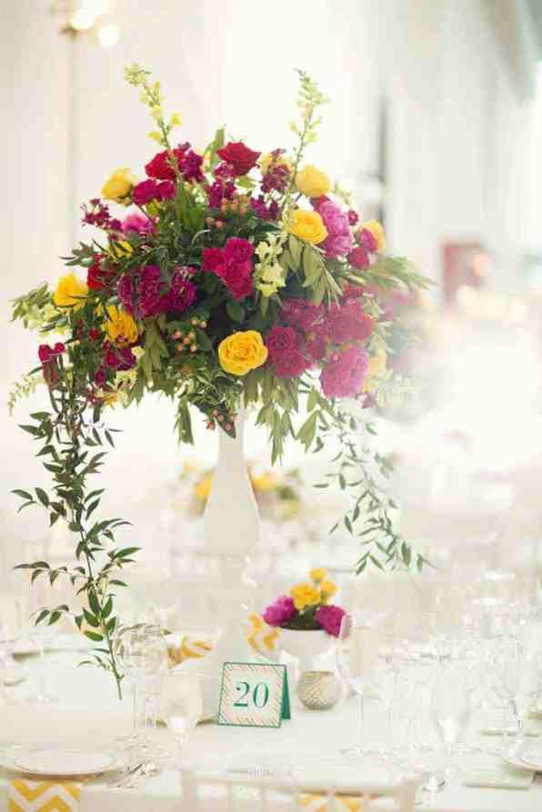 Bold & Vibrant wedding with an oversized Confetti wedding cake! (4)