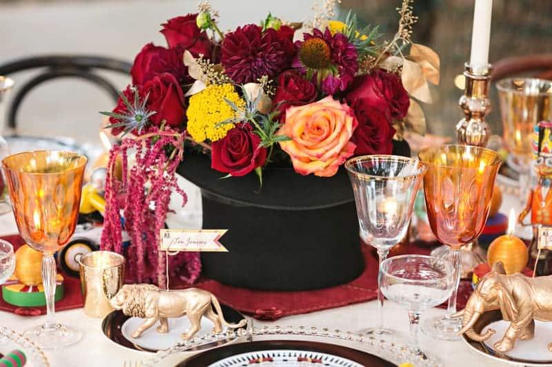 Circus Carnival Wedding Inspiration Theme 21