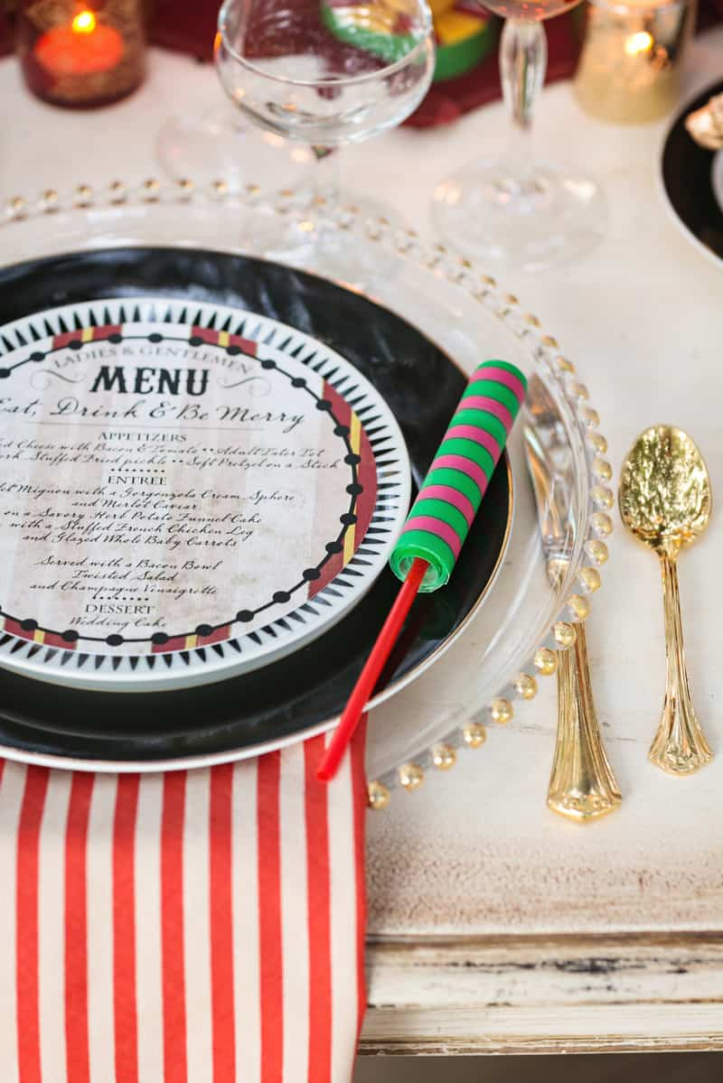 Circus Carnival Wedding Inspiration Theme 22
