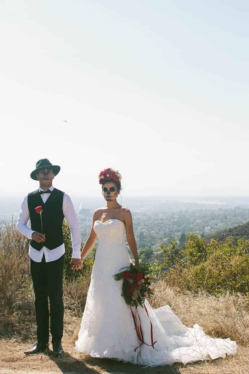 Day of the Dead Elopement   Bespoke-Bride: Wedding Blog